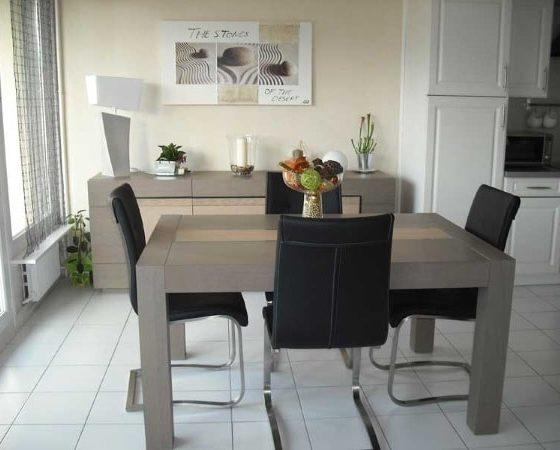 Maatwerk tafel en kast